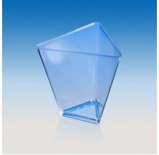 Пластиковый стаканчик - Треугольник, 70мл. 25шт. (5028)