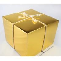 Упаковка для торта   - Gold, 30*30*h19см.