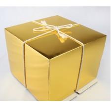 Упаковка для торта   - Gold,26*26*h18см.