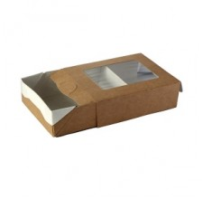 Упаковка ECO CASE 300 с окном, 100х80х30мм