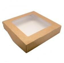 Упаковка ECO TABOX 1500 с окошком, 200х200х45мм