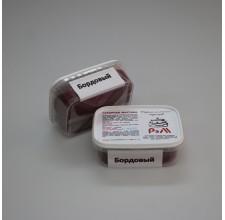 """Сахарная мастика для торта """"РэМ""""- Бордовая, 250 гр."""