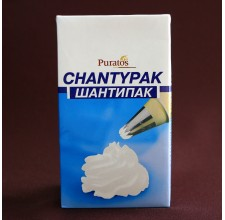 Крем сливки на растительных маслах Шантипак 26% 1л.