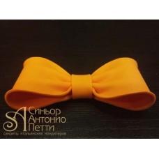Бантик из мастики - Оранжевый (11185*Q/p)