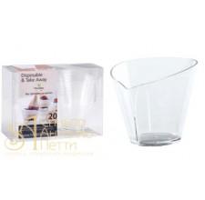 Пластиковый стаканчик - Вафельный, 70мл. 20шт. (PMOCO 0132000)