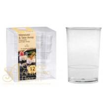 Пластиковый стаканчик - Круглый, 170мл. 12шт. (PMOTO 0041200)