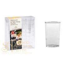 Пластиковый стаканчик - Круглый, 65мл. 20шт. (PMOTO 0012000)