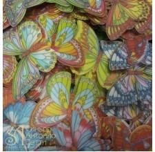 Вафельные Бабочки - Микс, 10шт. (10/13022R)
