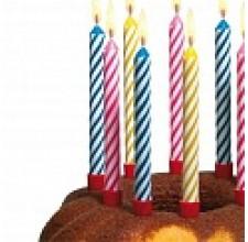 Свечи и фейерверки для торта