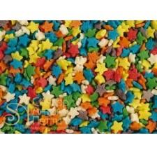 Посыпка кондитерская - Звезды разноцветные мини, 50гр. (50/tp15826)