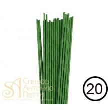 Кондитерская проволока №20 - Зеленая, 20шт. (40-1382G)