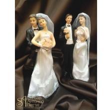 Свадебная фигурка - Свадебная пара (28372/p)