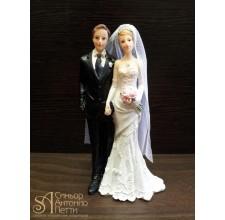 Свадебная фигурка - Свадебная пара (28416cN/p)