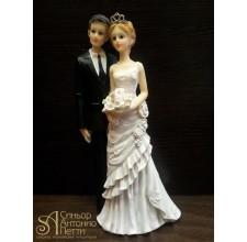 Свадебная фигурка - Свадебная пара (28419/p)