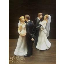 Свадебная фигурка - Свадебная пара (28438/p)