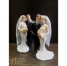Свадебная фигурка - Свадебная пара (28503/p)