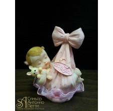Фигурка новорожденного, розовая (26148*B/p)