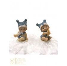 Фигурка новорожденного, голубая (26181*C/p)