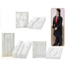 Пластиковая форма 3D - Мужчина (30359)