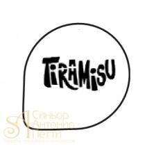 Трафарет - Надпись Tiramisu (R 22)