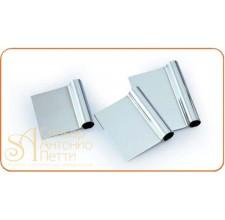 Скребок металлический прямоугольный, 105*105мм. (RD 105)
