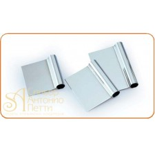 Скребок металлический прямоугольный, 175*105мм. (RD 175)