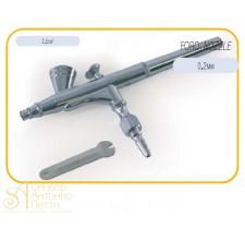 Пистолет двойного действия. 0,2мм. (DECOAIR 3)