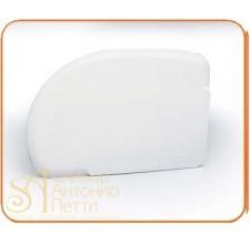 Пластмассовый мягкий скребок - Четверть круга, 125*90мм. (RTA 2)