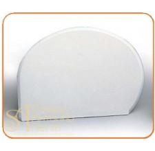 Пластмассовый твердый скребок - Полусфера, 150*110мм. (RTF 1)