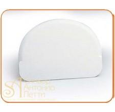 Пластмассовый мягкий скребок - Полусфера, 120*90мм. (RTP 2)