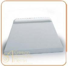 Пластмассовый твердый скребок - Трапеция, 215*130мм. (RTT 1)