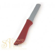 Нож с двухсторонним рифленым лезвием (Cutter 12)