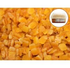Цукаты - Кубики апельсина, 6*6мм., 1кг. (LCT 620013130)