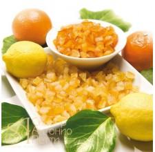 Цукаты - Кубики апельсина, 6*6мм., 10кг. (LCT 620013100)