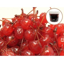 Засахаренная вишня с веточкой без сиропа - Красная, 20мм. 1кг. (LAC 00S0134)