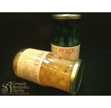 Вишня с веточкой в сиропе - Желтая, 20мм. 0.95кг. (LAC 00S0108)