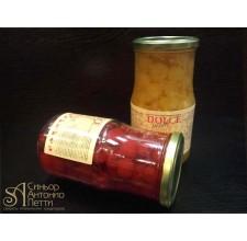 Вишня с веточкой в сиропе - Красная, 20мм. 0.95кг. (LAC 00S0116)