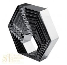Металлическая форма - Шестиугольник, 10см. (3H5x10RU)