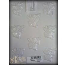 Форма для отливки шоколадных фигурок - Ангелочки (90-4015)