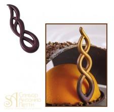 Форма для изготовления шоколадных фигурок (20-D001)