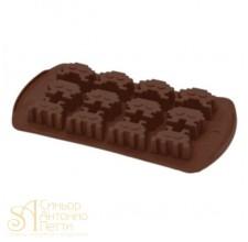 Силиконовая форма для конфет - Инопланетяне (HF 05623)