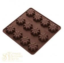 Силиконовая форма для конфет - Ромашки (HF 05636)