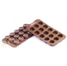 Силиконовая форма для конфет - Вертиго (SCG 04)