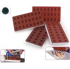 Форма для отливки мармелада JelliFlex - Ягодка (SG 06)
