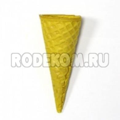 """Рожок вафельный """"Стандарт 110"""" Желтый, 5 шт."""